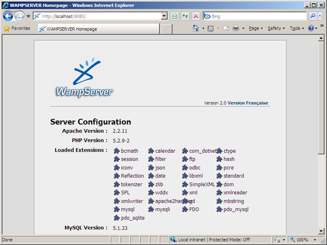 How to Run WAMP Server Parallel with IIS 7 on Windows