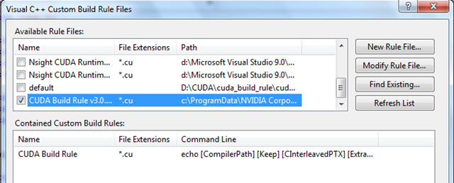 How to Run CUDA 3 0 on Visual Studio 2008 - ProgrammerFish