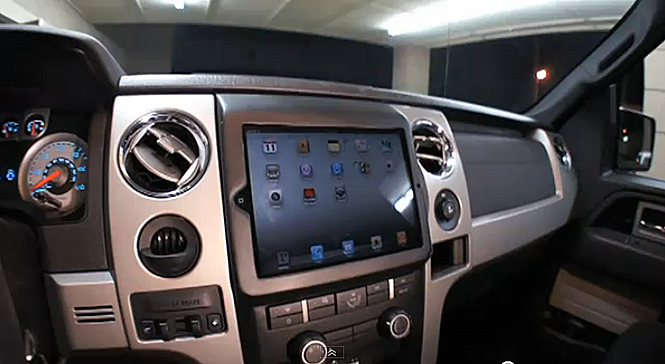 ipad2 in car