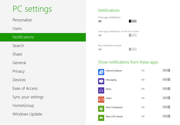 how to get rid of windows 8 activation notification
