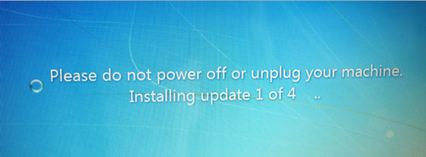 windows 8 Update Stuck