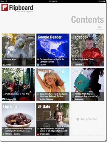 social media app for ipad flipboard