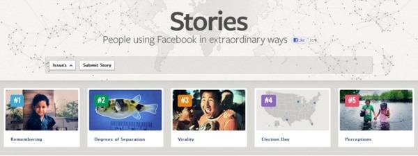 Facebook Stories - People using Facebook in extraordinary ways