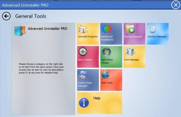 Features - Advanced Uninstaller