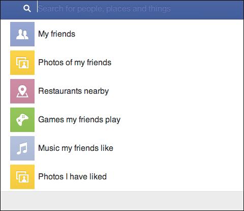 facebook- graph search