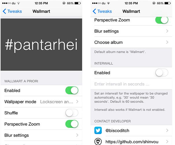 Change iPhone Wallpaper Automatically Using Wallmart 2