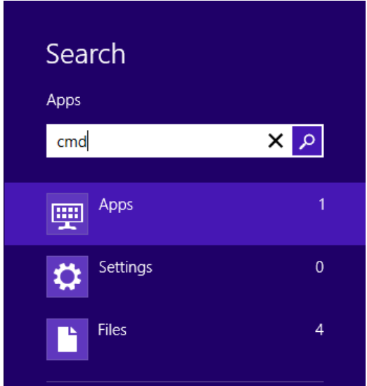 Find MAC Address on Windows 8 Tablet and Phone  2