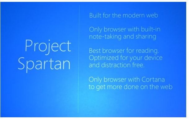 Microsoft Launches Spartan Web Browser for Windows 10 1