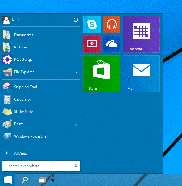 Move, Edit or Remove Apps from Windows 10 Start Menu 1