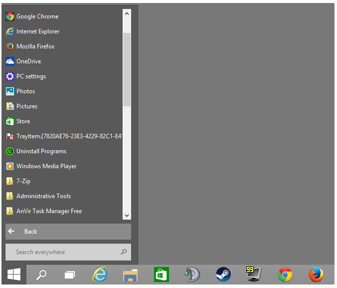 Move, Edit or Remove Apps from Windows 10 Start Menu 2